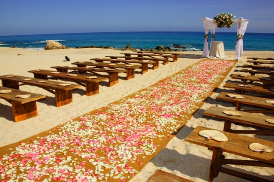 Hilton Los Cabos Beach Ceremony