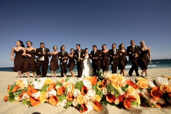 Sheraton Los Cabos Beach Wedding