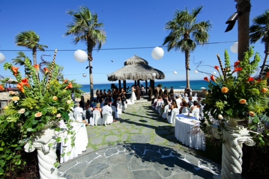 Sheraton Palapa Fiesta Wedding