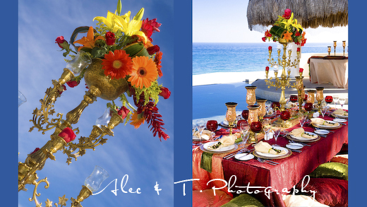 Los Cabos Wedding Design by Karla Casillas