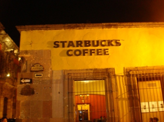 Starbucks Coffee at San Miguel de Allende