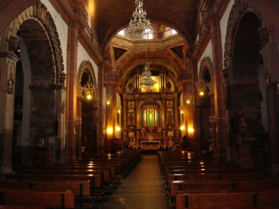 Parish at San Miguel de Allende