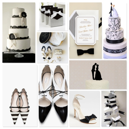 Karla Casillas Black & White Wedding Ideas 1