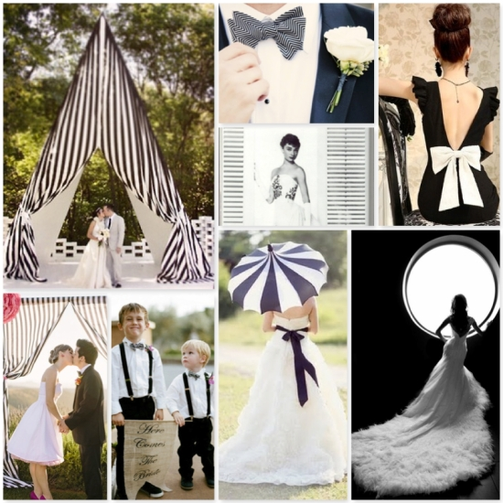 Karla Casillas Black & White Wedding Ideas 3
