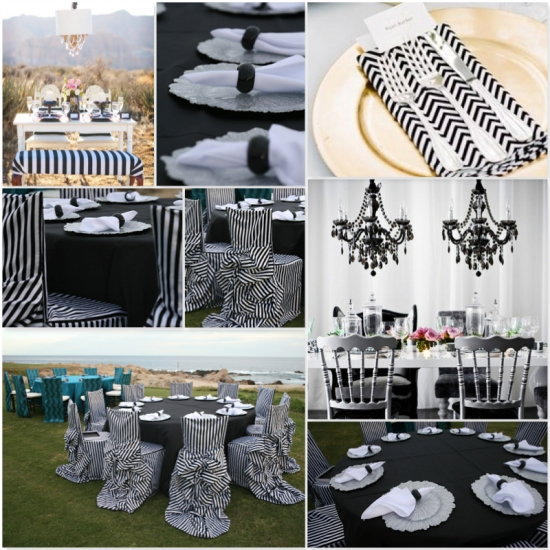 Karla Casillas Black & White wedding ideas 5