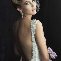 Wedding Dress Trends: Dramatic and Open Back Wedding Dresses