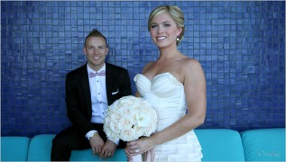 Erica + Lyle marry instyle